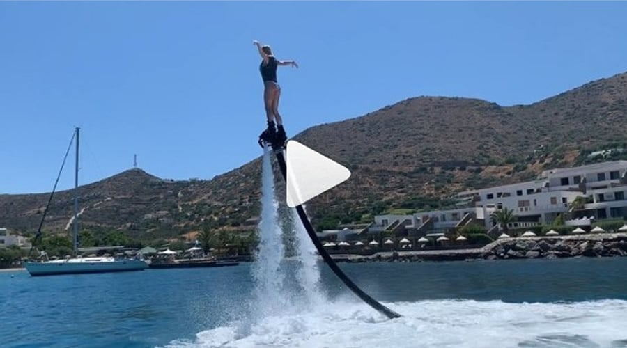 i ntoretta papadimitriou kani flyboarding video