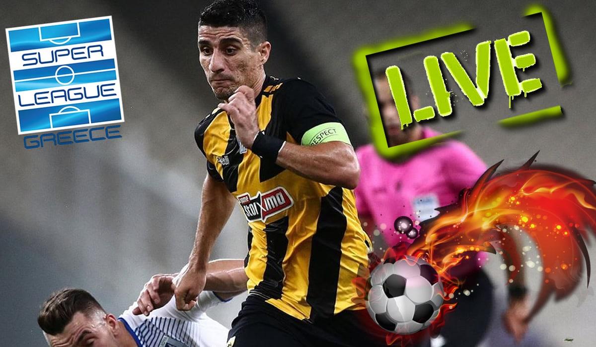 aek xanthi live streaming edo ta link