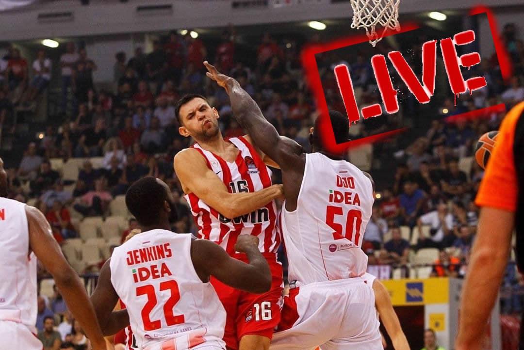 Olympiacos–CSKA live streaming