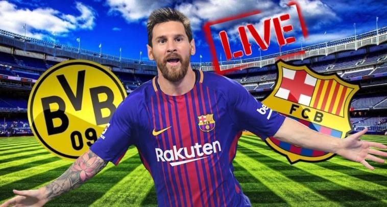 dortmund barcelona live streaming edo mono o agonas