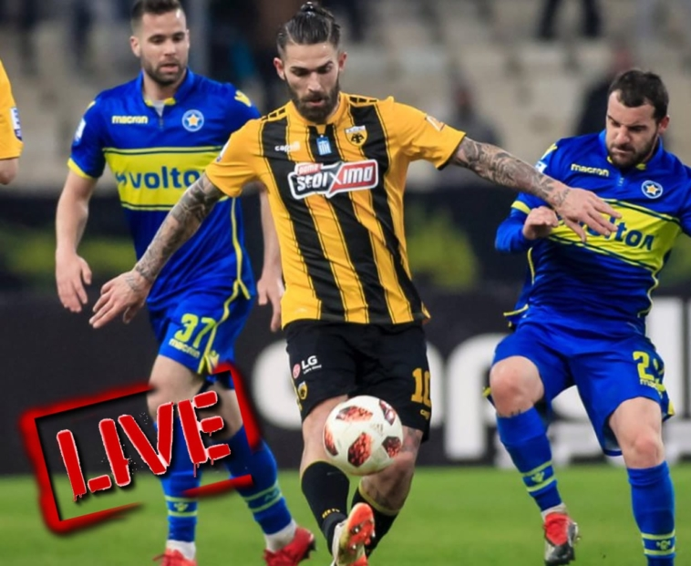 live streaming asteras tripolis aek