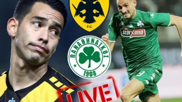 aek panathinaikos live streaming zontana to nterbi tis superleague