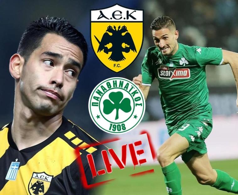 aek panathinaikos live streaming zontana to nterbi tis superleague