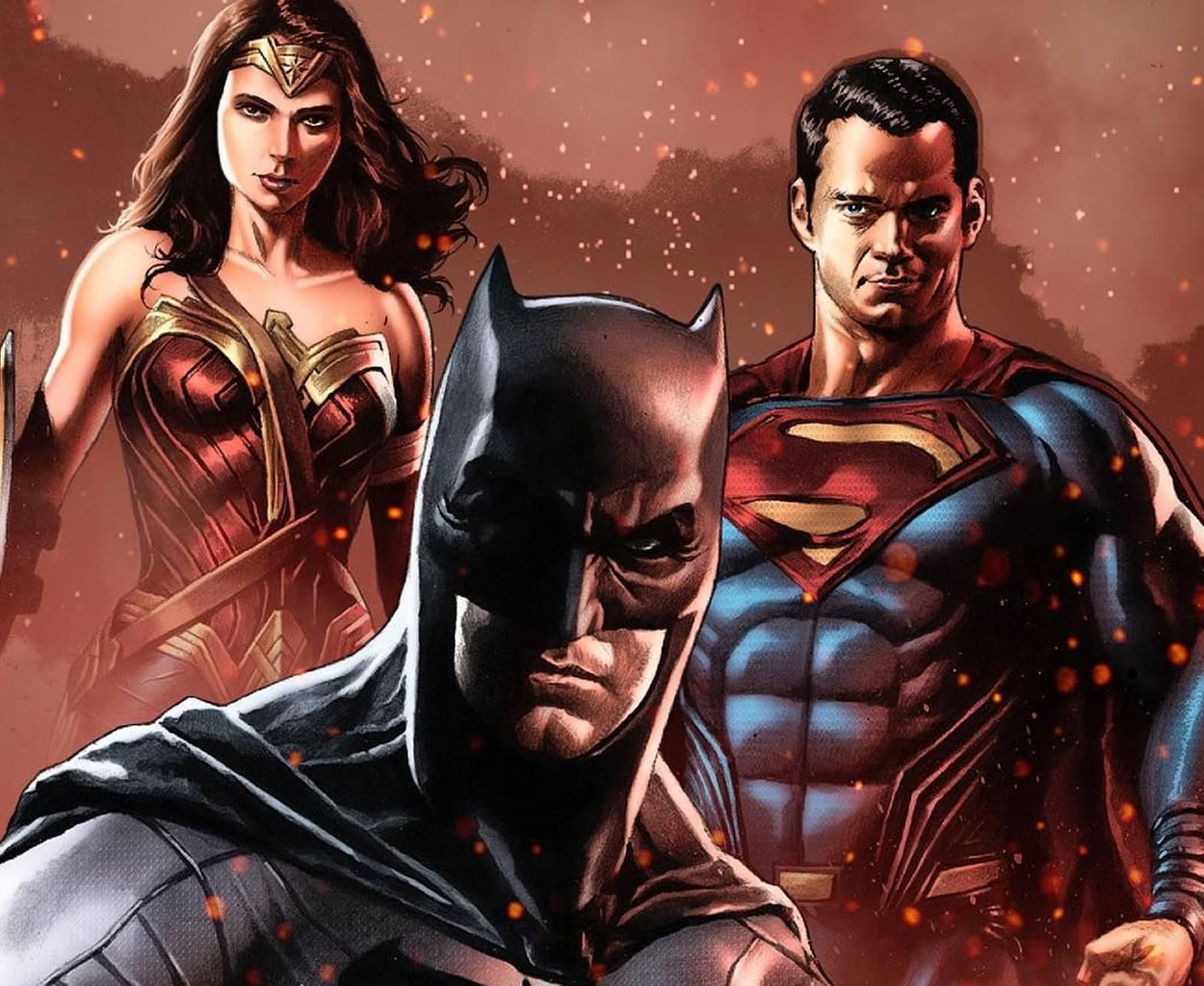 anekdoto ine o superman o batman ke o spiderman fovero gelio