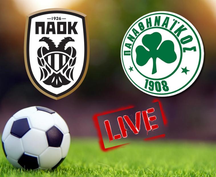 paok panathinaikos live streaming des edo ton agona