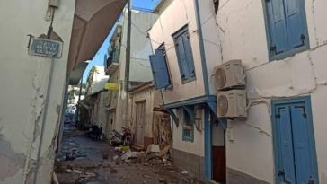 Σάμος σεισμός: Εντυπωσιακή ανύψωση της Σάμου κατά 18-25 εκατοστά
