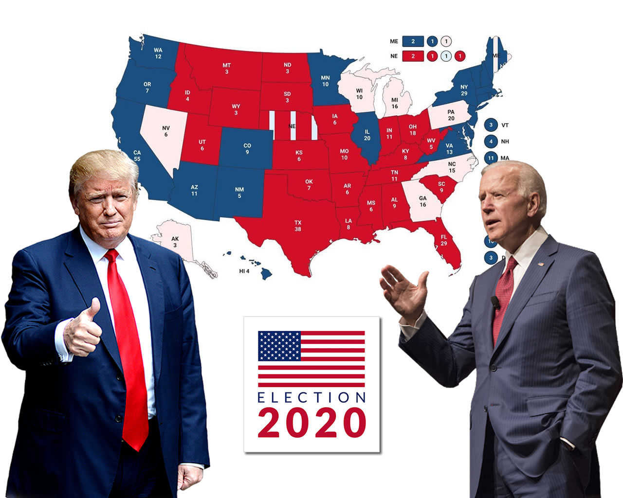 Θρίλερ στις Αμερικάνικες εκλογές! 67% συμμετοχή ρεκόρ