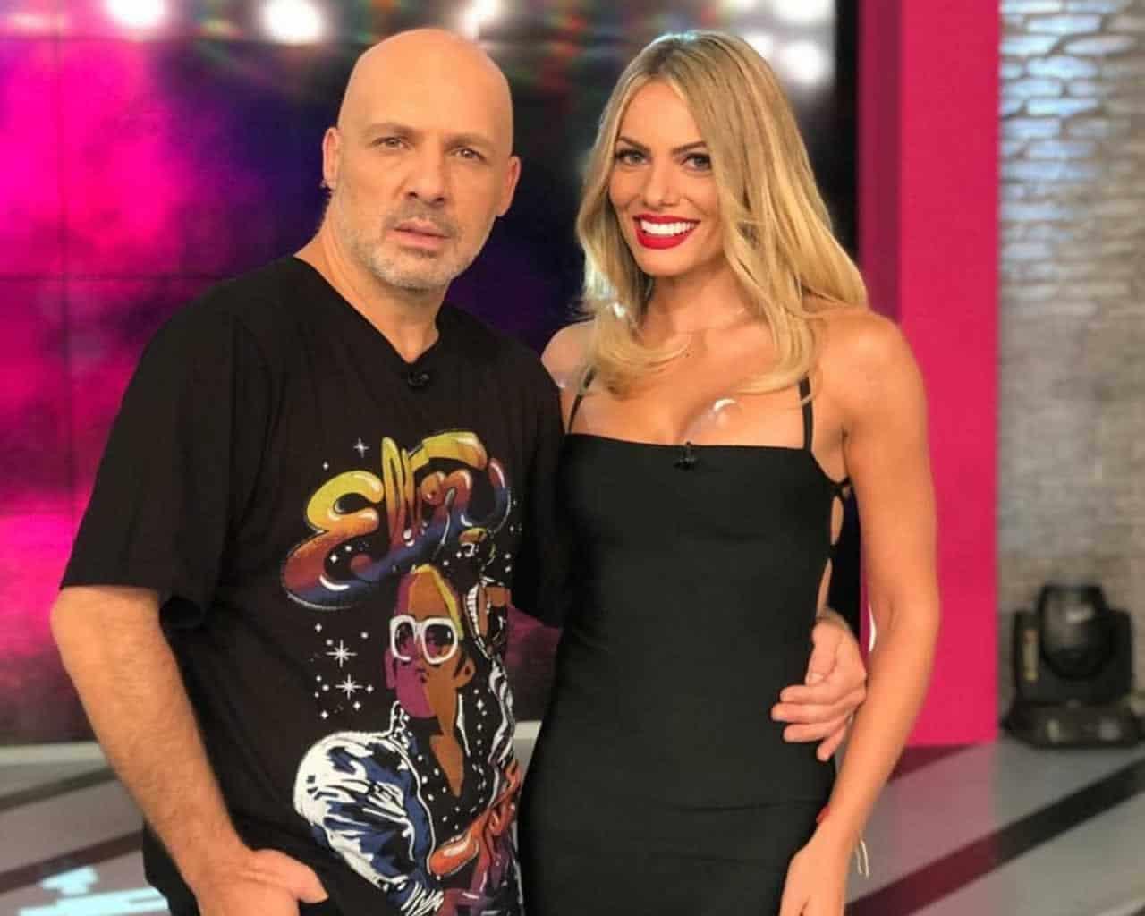 Ιωάννα Μαλέσκου και Νίκος Μουτσινάς